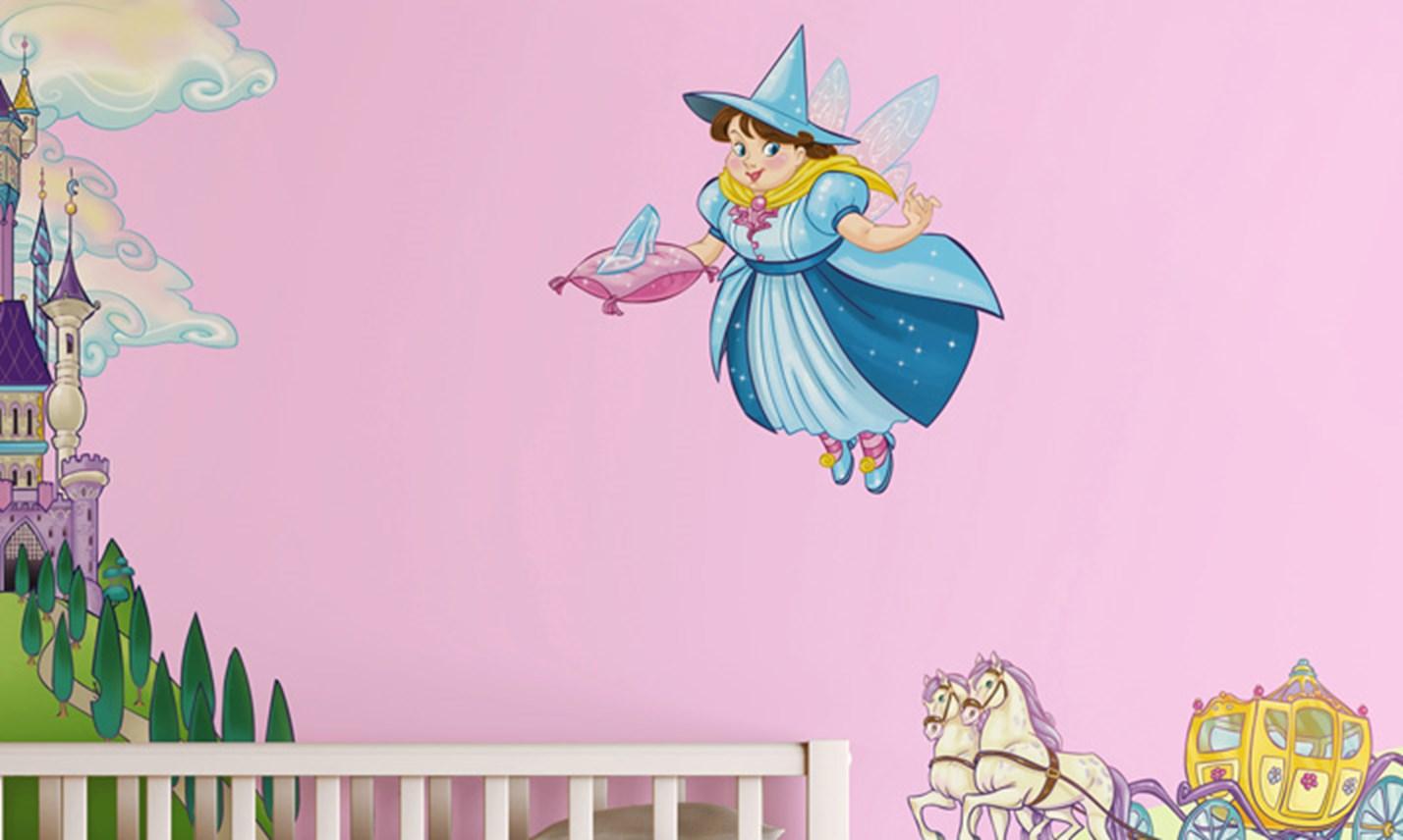 Stickers murali bambini cameretta il regno delle - Cameretta delle principesse ...